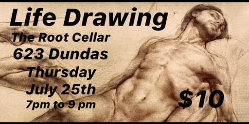 Life Drawing in Old East Village
