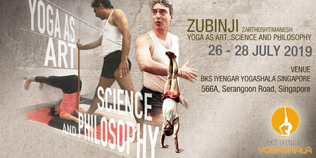 Zubinji Yoga Workshop (Yoga as Art, Science, and Philosophy) tickets