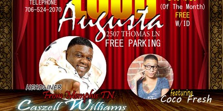 JOKERS COMEDY CLUB PRESENTS: COMEDIAN CASZELL WILLIAMS STRAIGHT OUTTA MEMPHIS tickets