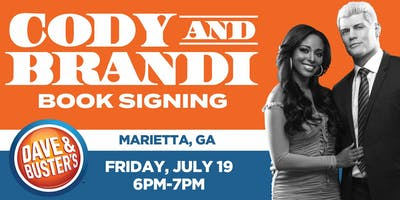 "Book Release Signing with Cody & Brandi Rhodes:""Cody Heart of the Mountain"""
