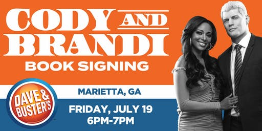 """Book Release Signing with Cody & Brandi Rhodes:""""Cody Heart of the Mountain"""""""