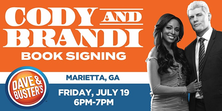 """Book Release Signing with Cody & Brandi Rhodes:""""Cody Heart of the Mountain"""" image"""