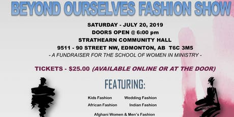 Beyond Ourselves Fashion show Fundraiser tickets
