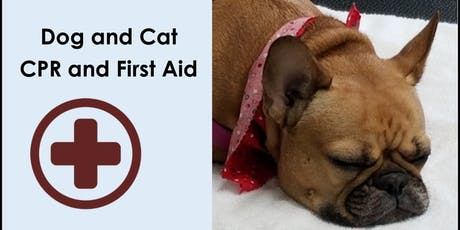 Dog and Cat CPR and First Aid Training tickets