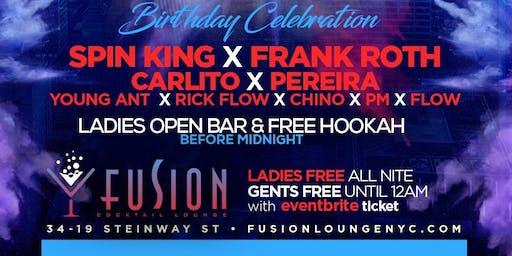 "UNIK Fridays at FUSION LOUNGE ""Ladies Drink FREE til Midnight"""