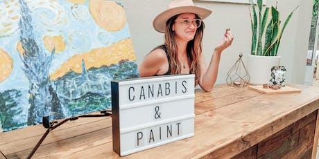 Cannabis and Paint Night - Venice Beach  tickets