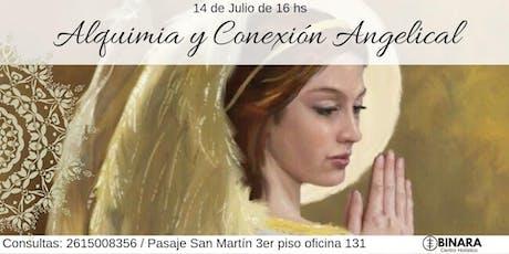 ALQUIMIA Y CONEXIÓN ANGELICAL entradas