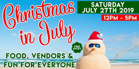 Christmas in July Craft Fair tickets