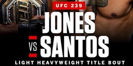 UFC 239: Jones vs. Santos at Discovery Ventura tickets