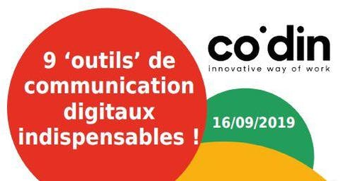 9 outils de communication digitaux indispensables !