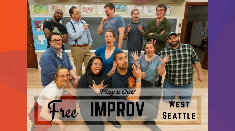Free Improv Class in West Seattle