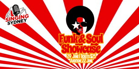 Singing Sydney: Funk and Soul Showcase tickets