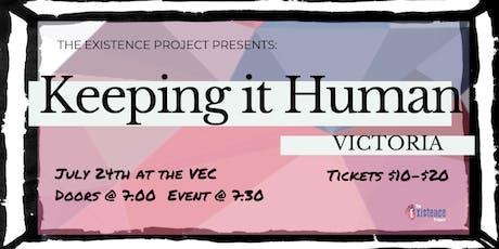 Keeping It Human - Victoria tickets