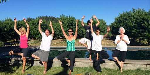 Yoga Night at Dry Creek Organic Peach Farm
