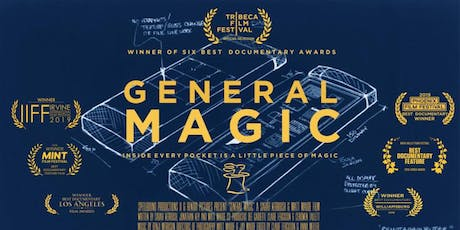 """""""General Magic"""" Before There Was iPHONE, There Was... General Magic At HCC tickets"""