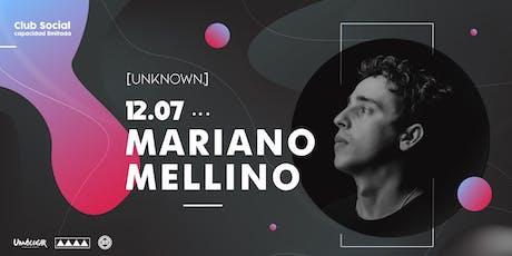 UNKNOW - Mariano Mellino entradas