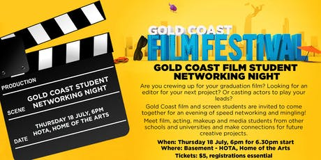 Gold Coast Film Student Networking Event tickets