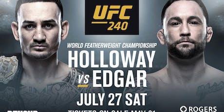 UFC 240: Holloway vs. Edgar at Discovery Ventura tickets