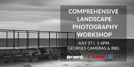 Comprehensive Landscape Photography Workshop with Ian Van Der Wolde tickets