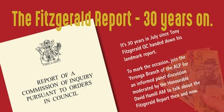The Fitzgerald Report - 30 Years On tickets