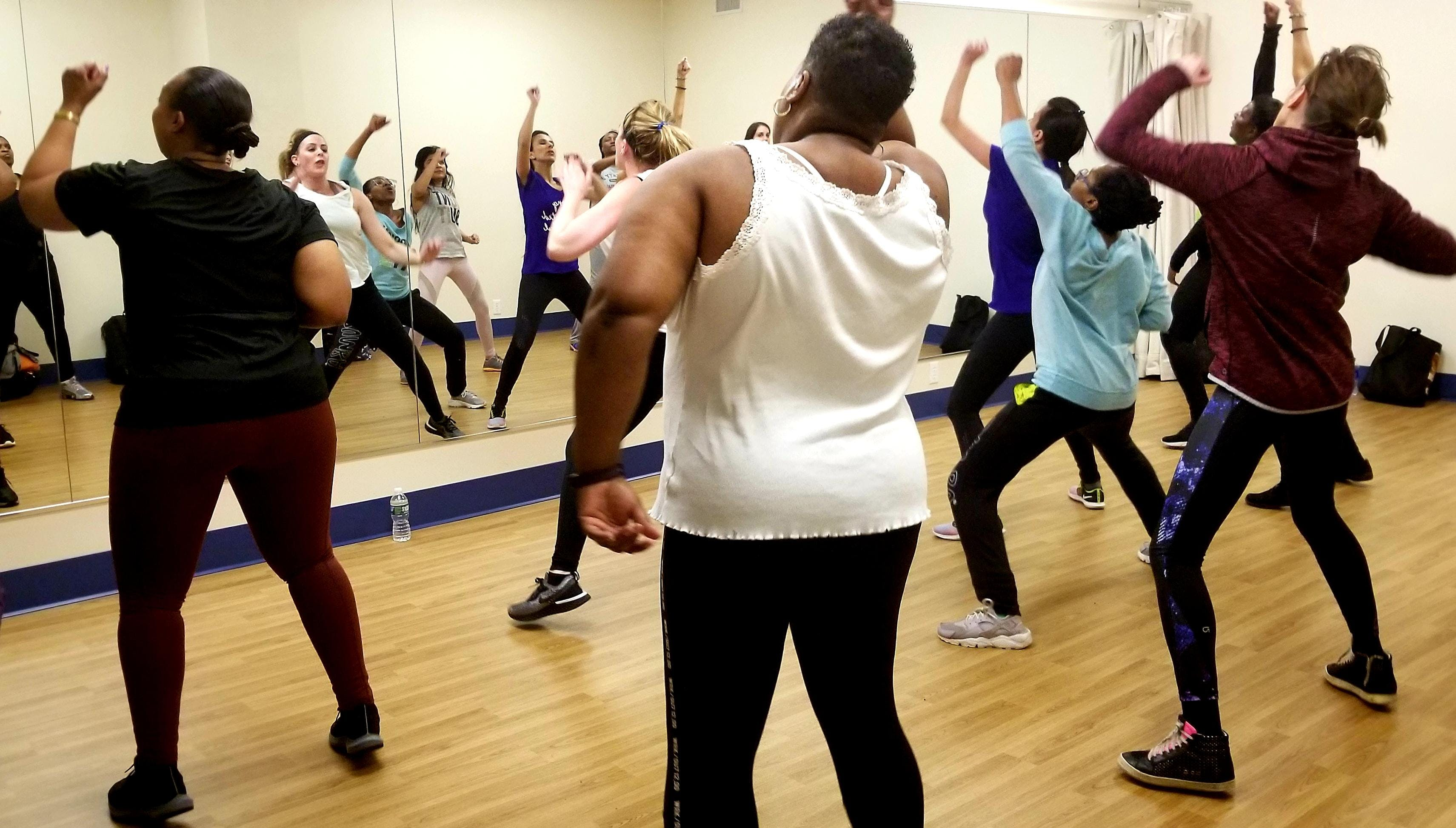 Thursdays at 8PM Zumba with Talitha Dance
