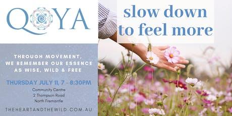 Qoya: Movement as Medicine tickets