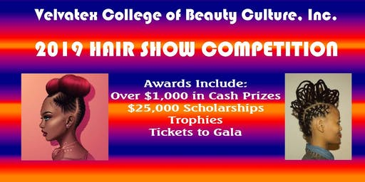 Velvatex College of Beauty Culture, Inc  Hair Show