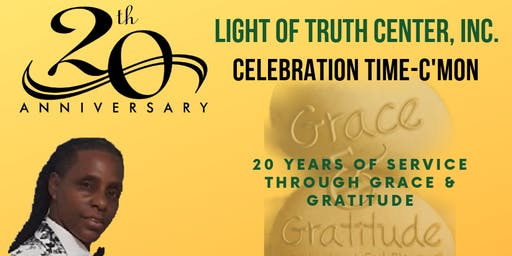 Grace & Gratitude - 20 Years of Service