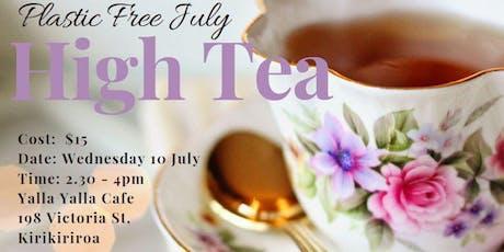 Plastic Free July High Tea tickets