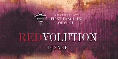 REDVOLUTION Dinner  Australia's First Families of Wine   Sydney tickets