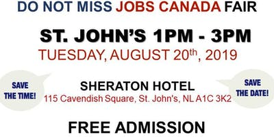 St. John's Job Fair - August 20th, 2019