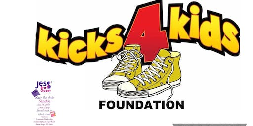 Kicks4Kids BR Foundation w/Jess' Bra Closet 8th Annual Back to School Event