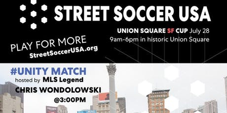 Street Soccer USA - 2019 Union Square Cup  tickets