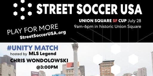 Street Soccer USA - 2019 Union Square Cup