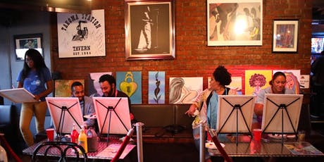 Pre Independence Day Live Paint N'Jazz Jam Happy Hour Paint 'N Sip tickets