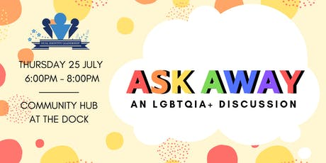 Ask Away: An LGBTQIA+ Discussion tickets