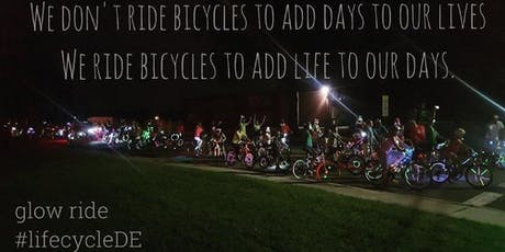 The Glow Ride: Milford, 8/30/19 tickets