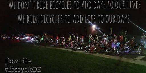 The Glow Ride: Milford, 8/30/19