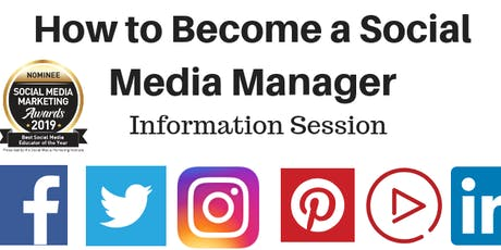 How to Become a Social Media Manager - Information Session tickets