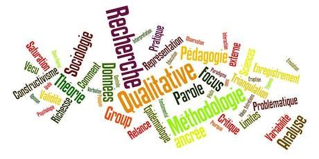 Séminaire sur les méthodologies qualitatives et mixtes : Introduction à cinq approches de recherche  billets