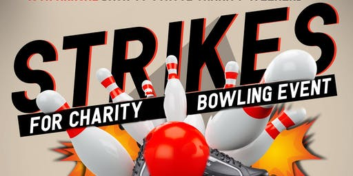 Strikes for Charity Bowling Event