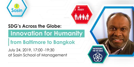SDG's Across the Globe: Innovation for Humanity from Baltimore to Bangkok tickets