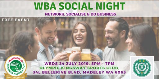 Free Networking Social Night