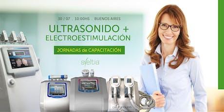 Ultrasonido + Electroestimulación entradas