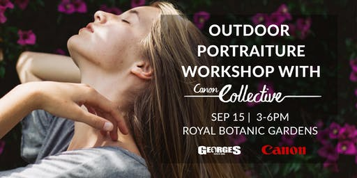 Outdoor Portraiture Workshop with Canon Collective