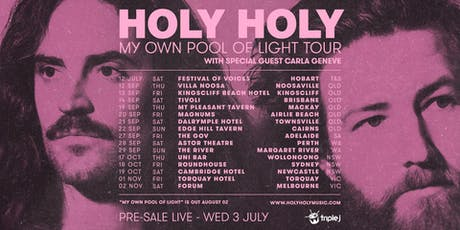 Holy Holy - In My Own Pool Of Light Tour | Torquay Hotel tickets