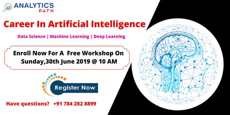 Be A Part Of AI Training Free Workshop Session By Analytics Path Scheduled On 30th June, 10 AM, Hyderabad tickets