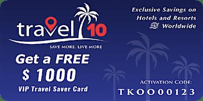 Travel 10 Save & Earn on Travel Bookings (SA)