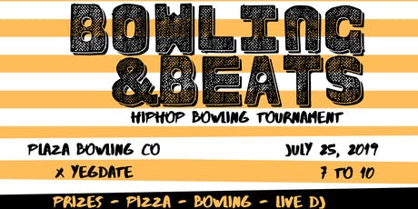 Bowling & Beats: Hip Hop Bowling Tournament at Plaza Bowling Co.  tickets
