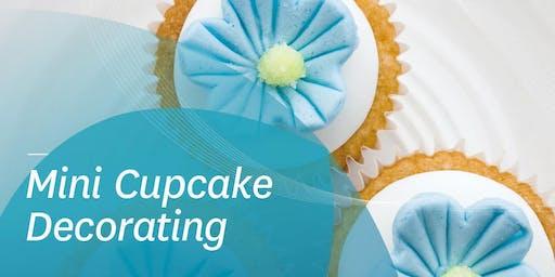 Mini Cupcake Decorating